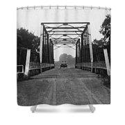 1915 Hudson Road Bridge Shower Curtain