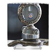 1916 Packard Hood Ornament  Shower Curtain