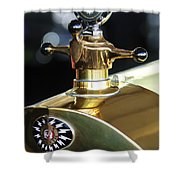 1917 Owen Magnetic M-25 Hood Ornament Shower Curtain
