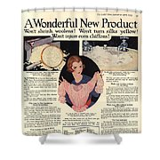 1917 Soap Ad  Shower Curtain