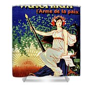1919 Waterman Fountain Pen Shower Curtain