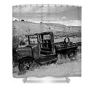 1920's International Truck Shower Curtain