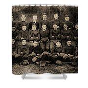 1921 Royal Cc Football Champions Shower Curtain