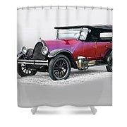 1922 Franklin Open Touring Sedan Shower Curtain