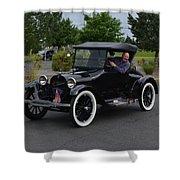 1922 Roadster Scharf Shower Curtain