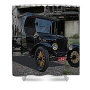 1923 Ford Model T Truck Shower Curtain