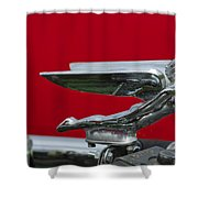 1924 Ford Hood Ornament Shower Curtain