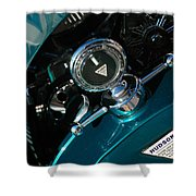 1924 Hudson Hood Ornament Shower Curtain