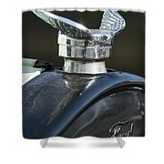 1925 Ford Model T Hood Ornament Shower Curtain