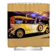 1925 Renault 40cv Tourer Shower Curtain