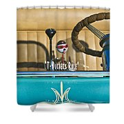 1925 T-bucket Rules Shower Curtain