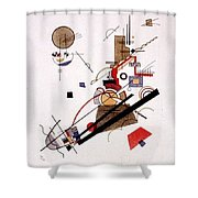 1925 Vasily Kandinsky Shower Curtain