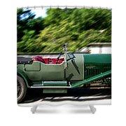 1926 Bentley Automobile Shower Curtain