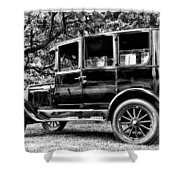 1926 Ford Model T Shower Curtain