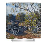 1926 Ford Truck Shower Curtain