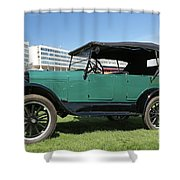 1927 Ford Model A Shower Curtain