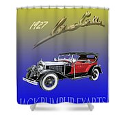 1927 Lasalle Shower Curtain
