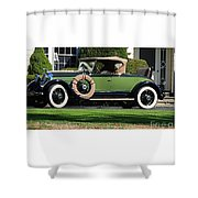 1928 -1931 Roadster Shower Curtain