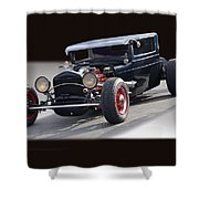 1928 Chrysler Coupe 'studio' IIi Shower Curtain