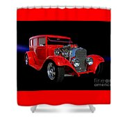 1928 Dodge Street Rod Shower Curtain