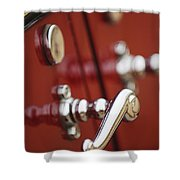 1928 Rolls-royce Phantom 1 Door Handle Shower Curtain