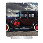 Classic 4 Door Ford Shower Curtain
