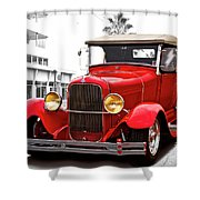 1929 Ford Hot Road Roadster II Shower Curtain
