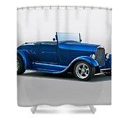 1929 Ford 'pretty Boy' Roadster Shower Curtain