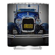 1929 Model A Ford Convertible Shower Curtain