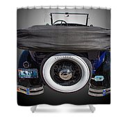 1929 Model A Ford Shower Curtain