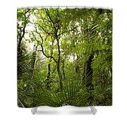 Jungle 1 Shower Curtain