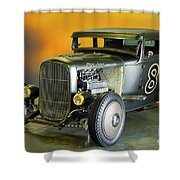 1930-31 Ford 'lakester' Coupe II Shower Curtain