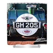 1930 Bentley Speed Six Taillights -0277c Shower Curtain