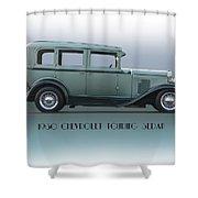 1930 Chevrolet Touring Sedan Shower Curtain