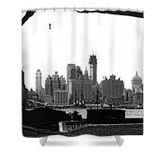 1930 Midtown Manhattan Shower Curtain