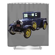 1930 - Model A Ford - Pickup Truck Shower Curtain