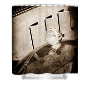 1930 Packard Fender Light -0139s Shower Curtain