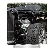 1931 Black Ford Roadster Shower Curtain