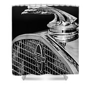 1931 Chevrolet Hood Ornament 4 Shower Curtain
