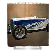 1931 Ford Convertible Hot Rod Shower Curtain