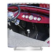 1931 Ford Dashboard Shower Curtain