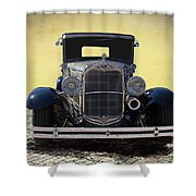 1931 Ford Model A Coupe Shower Curtain