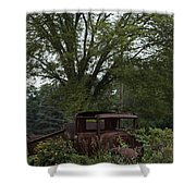 1931 Ford Model A Final Resting Place Shower Curtain