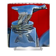 1931 Ford Model A Quail Hood Ornament Shower Curtain