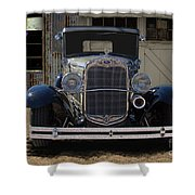 1931 Ford Model A Roadster Shower Curtain