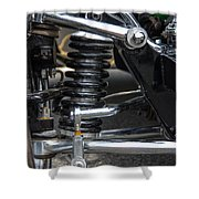 1931 Ford Roadster Suspension Shower Curtain