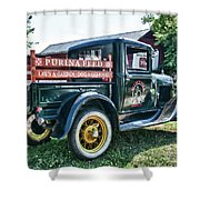 1931 Ford Truck Shower Curtain