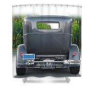 1931 Ford Tudor Sedan 'see Ya' Shower Curtain