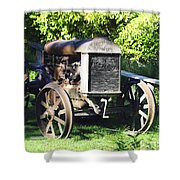 1931 Fordson Tractor Shower Curtain