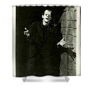 1931 Frankenstein Boris Karloff Shower Curtain
